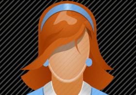 profilbilde anonym dame