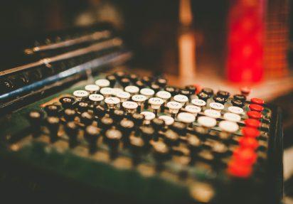 bilde av skrivemaskin